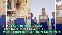 Taylor Swift Fan Recreates Iconic Fashion Moments