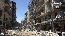 Al menos 15 muertos en bombardeos del régimen en Alepo