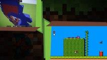 ⚡ Minecraft - Recreando a Mario (Super Mario Bros 2)