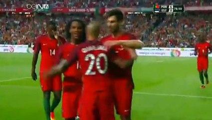Ricardo Quaresma Goal Portugal 6 - 0 Estonia Friendly Match 7-6-2016