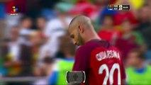 Les buts de Quaresma et Ronaldo - Portugal 3-0 Estonie - Euro 2016