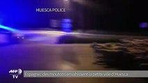Espagne: invasion de mouton dans la petite ville d'Huesca