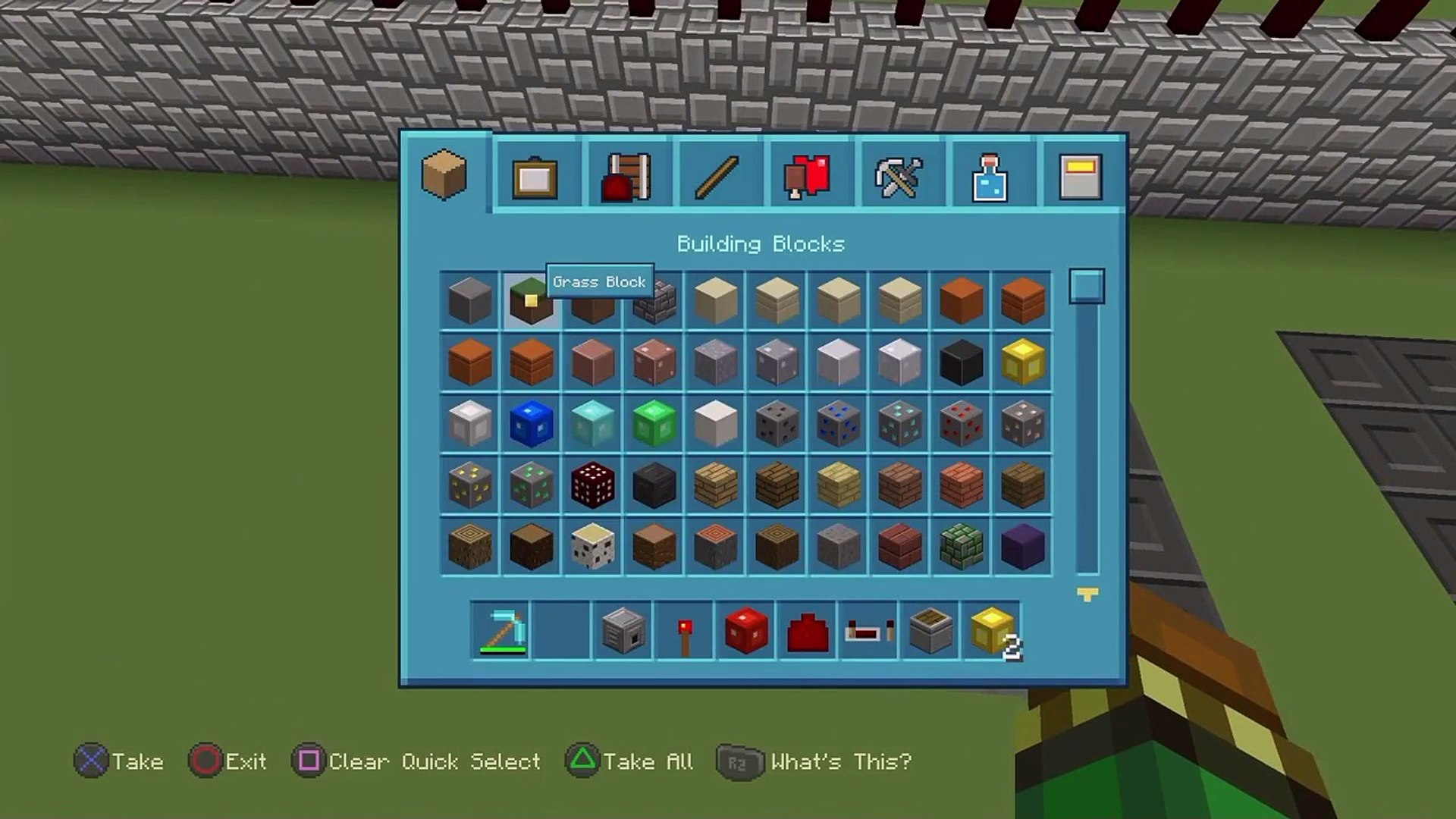 How to make a lucky block on minecraft (PS4 PS3 XBOX 1 XBOX 360) (NO MODS  !!!!!!)