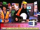 """Luís Monteiro canta """"Votem no Pingu"""" com Unas e Jel  - Curto Circuito 25/09/09"""
