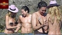 Heidi Klum Goes TOPLESS Swimming With Boyfriend | Hollywood Asia