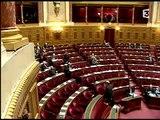 """Jean-Pierre Chevènement au Sénat"""" sur France 3, mardi 27 octobre 2009"""