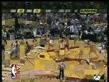 NBA - Dwyane Wade dunks vs Bobcats
