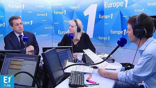 """Nicolas Sarkozy : """"L'Europe est en train de devenir une passoire"""""""