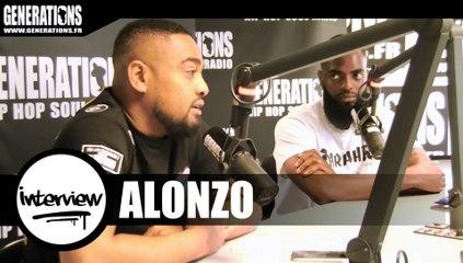 Alonzo - Interview #AvenuedeStAntoine (Live des studios de Generations)