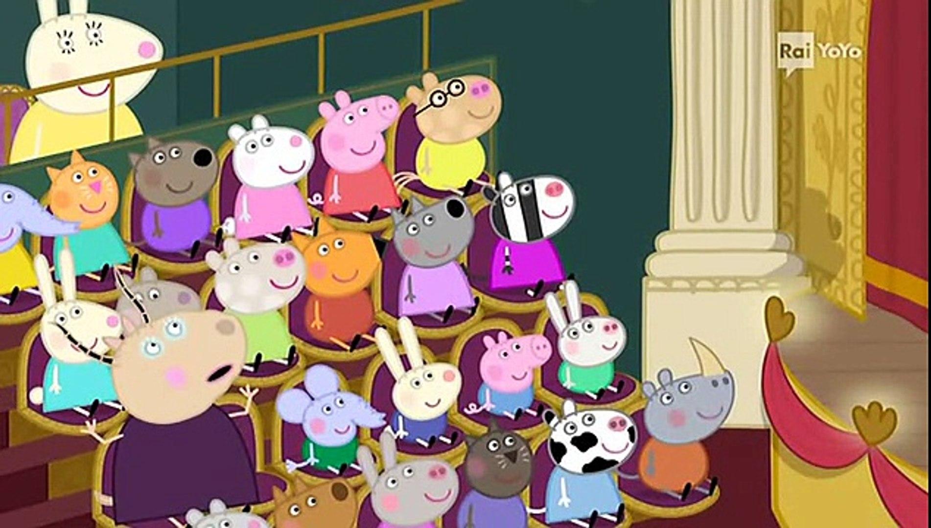 Peppa Pig Natale.Peppa Pig S04e25 Lo Spettacolo Di Natale Nuovi Episodi 2014 Video Dailymotion