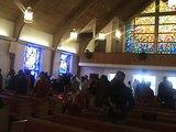 Thomas E. Anderson II, & Conte L.V. Gospel Chorus led the processional. 12-25-11.