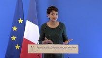 [ARCHIVE] Garantir le droit à l'éducation pour tous les enfants : conférence de presse de Najat Vallaud-Belkacem