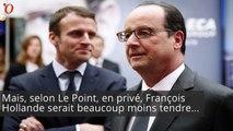 Voilà ce que pense (vraiment) Hollande de Macron