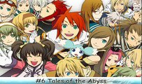 [TOP 25] RPG Traveling Themes #6 Tales of the Abyss