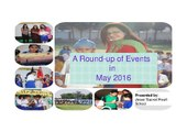 Round Up of Events in May-Jesus Sacred Heart School