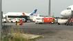 Arrivée d'un vol de réfugiés à Nantes en provenance d'Athènes