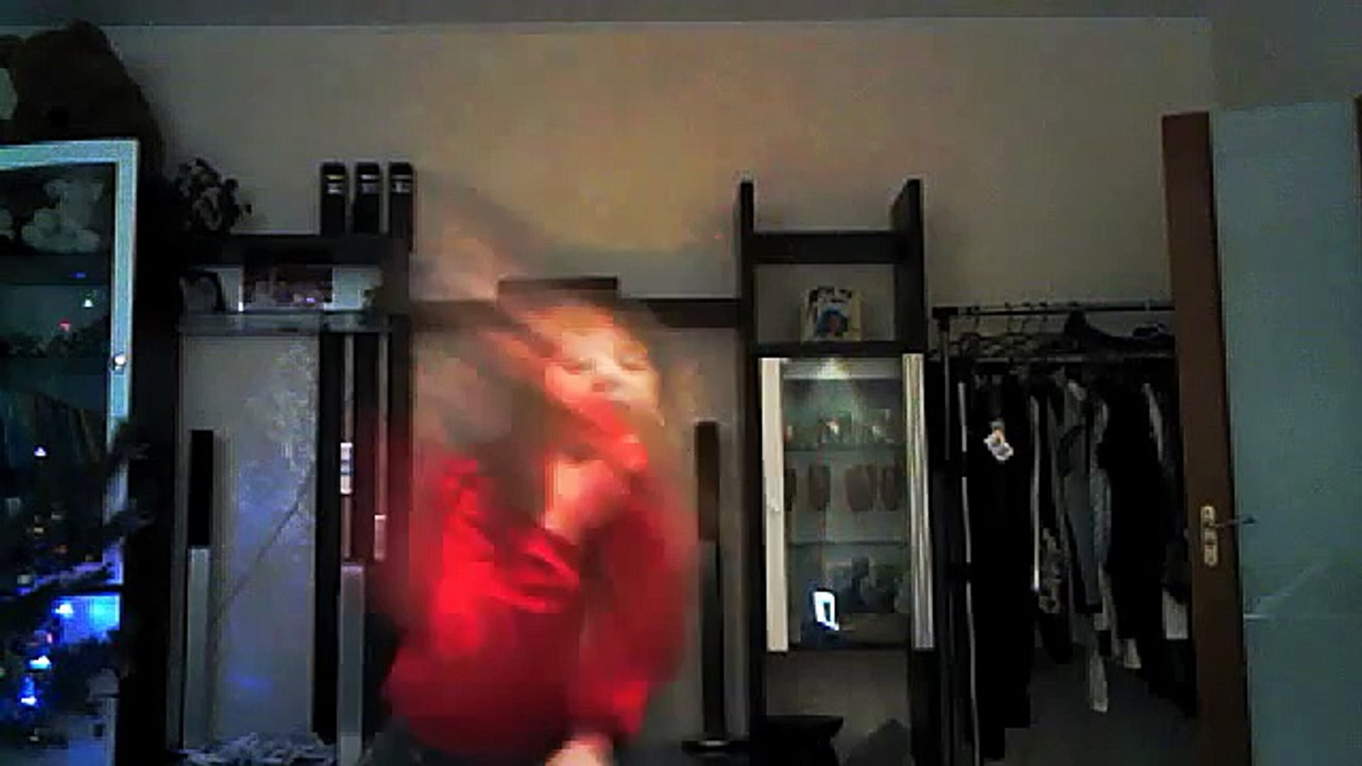 Видео с веб-камеры. Дата: 30 декабря 2013 г., 22:37.