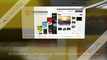 Top 10 Best Sellers WordPress Blog Themes & Magazine Themes