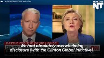 Hillary Clinton Admits There Are Faults with Clinton Global Initiative