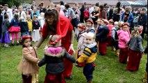 Castel Saint-Henri en fête  final avec tous les élèves