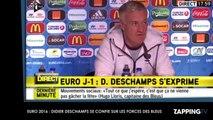 Euro 2016 : Didier Deschamps serein, il se confie sur les forces des Bleus (Vidéo)