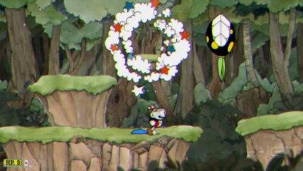Cuphead - Gameplay de Cuphead