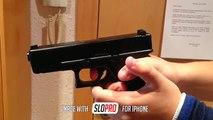Glock 23 cámara lenta