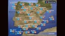 Previsión del tiempo para este jueves 9 de mayo