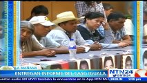 Fiscal mexicana entrega informe del caso Iguala a familiares de los 43 estudiantes desaparecidos