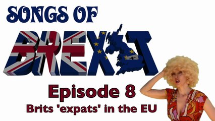 'Que Sera, Sera' Ep 8 UK expats abroad 'Songs Of Brexit' The Singing Psychic