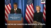 President Barack Obama endorses Hillary Clinton for president - Hillary Clinton