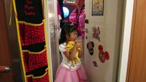 Finding Her Birthday Door!  Hannah's 5th Birthday!  Disney Fantasy  Feb 27, 2014
