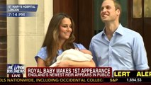 Kate Middleton, Prince William Emerge with Royal Baby Boy for 1st Time 07/23/13 HD