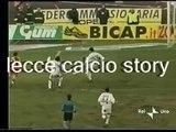 LECCE-Perugia 2-3 - 19/12/2001 - Campionato Serie A 2001/'02 - Recupero 6.a giornata di andata