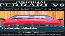 [PDF] Original Ferrari V8: The Restorer s Guide for all models, 1974-1994: 308 GT4, 308/328