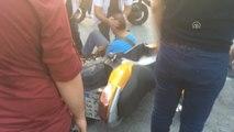 Kadıköy'de, Otomobille Motosikletin Çarpışması Sonucu Bir Kişi Yaralandı
