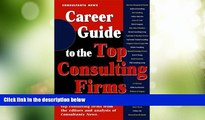 Big Deals  Career Guide to the Top Consulting Firms  Free Full Read Most Wanted