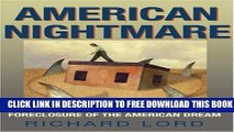Collection Book American Nightmare: Predatory Lending and the Foreclosure of the American Dream