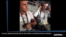 JO 2016 : L'hilarant craquage en direct de Brahim Asloum après la victoire d'Estelle Mossely (Vidéo)