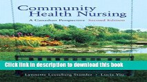 Collection Book Community Health Nursing: A Canadian Perspective (2nd Edition)