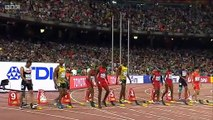 Usain Bolt beats Justin Gatlin 100m Final (Usain Bolt Wins 100m) World Championships Beijing 2015(380)