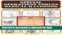 New Book Special Operations Forces Medical Handbook