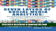 [New] EBook Seven Layers of Social Media Analytics: Mining Business Insights from Social Media