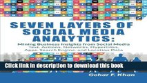 [New] EBook Seven Layers of Social Media Analytics: Mining Business Insights from Social Media