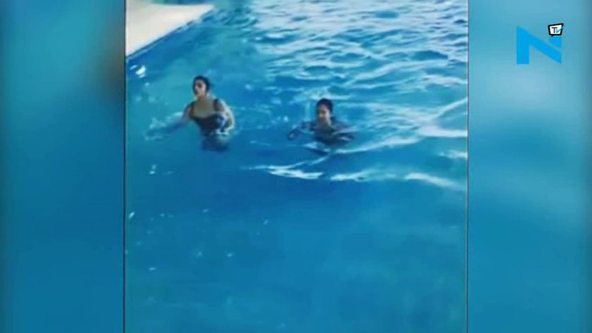 Alia and Katrina workout in swimsuits and its HOT