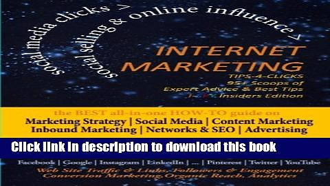 [New] EBook INTERNET MARKETING Tips-4-Clicks|SOCIAL SELLING   ONLINE INFLUENCE|Small Business,