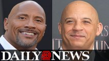Dwayne 'The Rock' Johnson Thanks 'Fast And Furious' Cast Except Vin Diesel