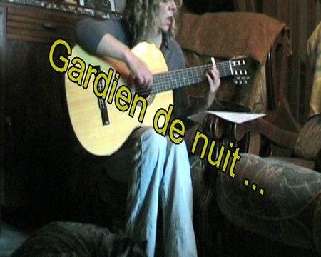 Gardien de nuit, ma reprise, Cabrel