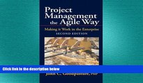 FREE PDF  Project Management the Agile Way: Making It Work in the Enterprise, 2nd Edition