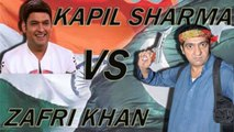 Kapil Sharma Vs Zafri Khan  - Comedy king Of Pakistan vs Comedy king Of India 21 August 2016 HD - Must Watch